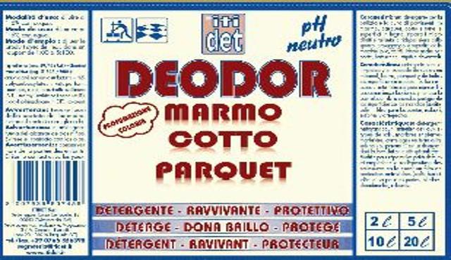 Itidet Deodor: un unico prodotto per il marmo, il cotto ed il parquet