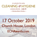 European Cleaning & Hygiene Awards 2019