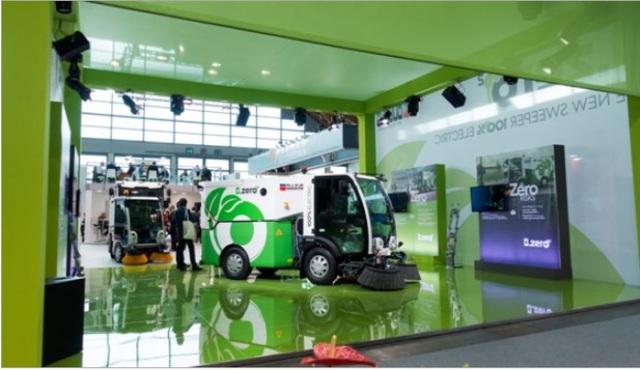 Dulevo international, a Ecomondo menzione all'innovazione per la spazzatrice stradale elettrica