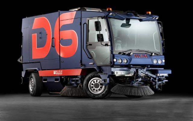 Dulevo lancia la spazzatrice stradale D6, smart e sostenibile