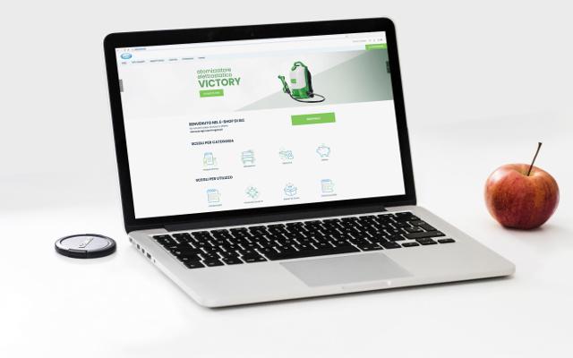 Debutta E-shop ISC: il canale di vendita per i professionisti del pulito