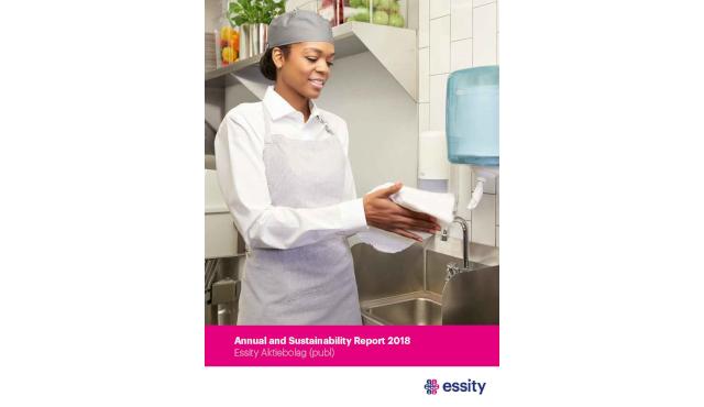 Essity pubblica il Report Annuale e di Sostenibilità del 2018
