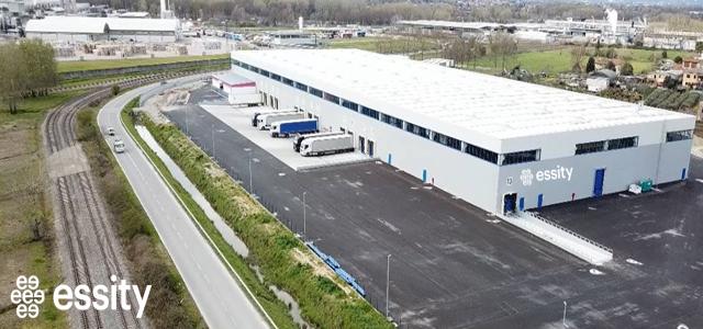 Nuovo magazzino Essity dedicato alla logistica