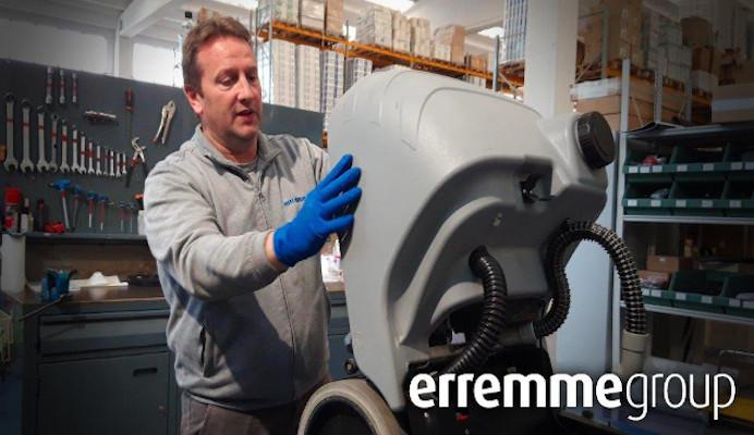 Erremmegroup: il pulito e l'igiene in un progetto su misura