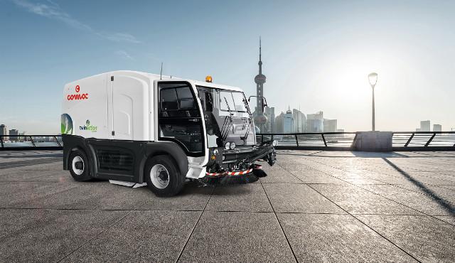 Street Line: la gamma di spazzatrici  dedicata alla pulizia degli ambienti urbani