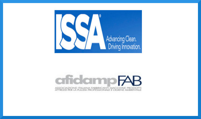 ISSA e Afidamp FAB creano una piattaforma globale per l'industria del Cleaning