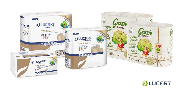 Sostenibilità: Lucart propone  il nuovo packaging riciclato e riciclabile