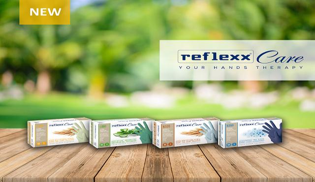 Reflexx Care: la nuova generazione di guanti monouso