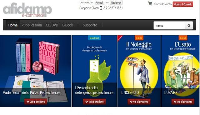 AfidampFED lancia la sua piattaforma di e-commerce