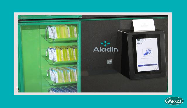 Con il sistema Aladin una detergenza sempre piu' green