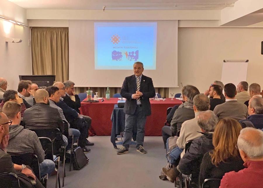 Incontri territoriali ANID: ottima partecipazione a Caserta e a Roma
