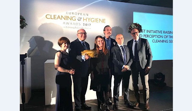 ANIP-Confindustria premiata agli European Cleaning & Hygiene Awards 2017