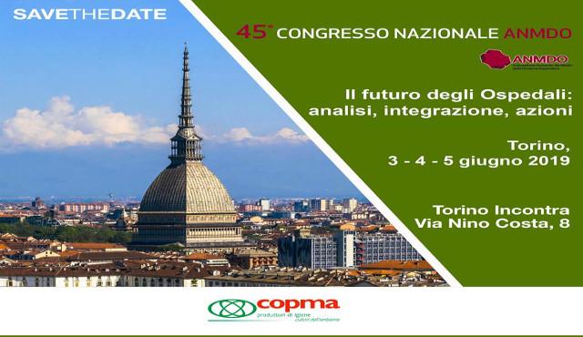 45° Congresso Nazionale ANMDO, Torino 3-5 giugno 2019