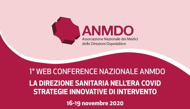 Iniziata la prima Web Conference ANMDO: sessioni virtuali, temi attuali e concreti