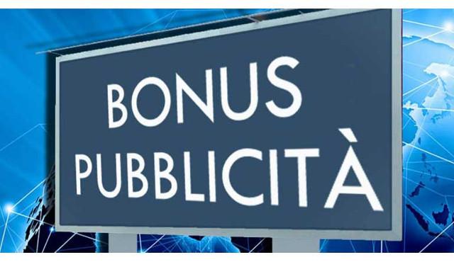 Bonus pubblicità: al via  le domande dal 22 settembre