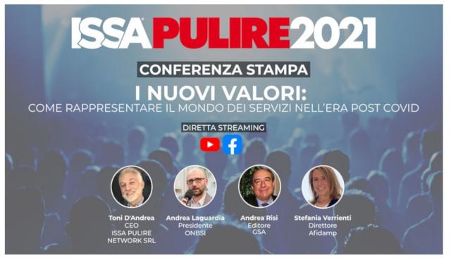 Conferenza stampa di presentazione di ISSA PULIRE 2021