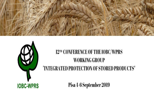 "A Pisa la conferenza IOBC su ""Integrated Protection of Stored Products"""