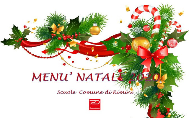 Speciale menu di Natale da Dussmann per le mense scolastiche di Rimini
