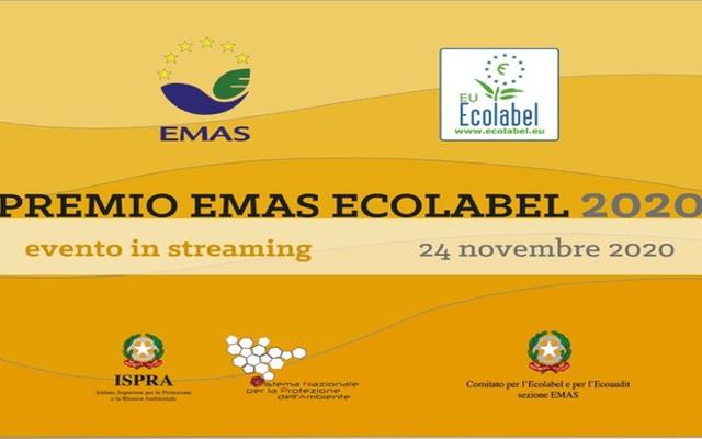 I vincitori del Premio EMAS Ecolabel 2020