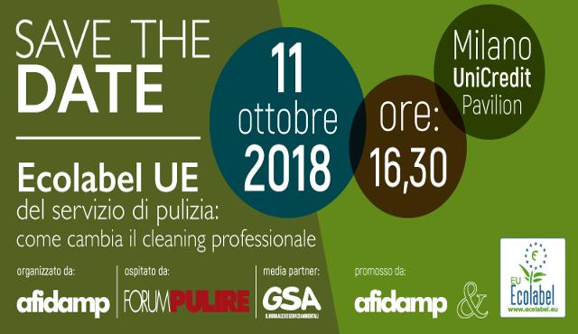 """Forum Pulire: una """"coda"""" nel segno di Ecolabel"""