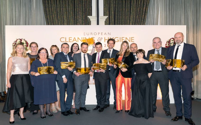 Ecco i vincitori degli European Cleaning & Hygiene Awards 2018
