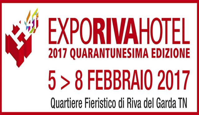 41ª Expo Riva Hotel 2017 : appuntamento irrinunciabile per HO.RE.CA