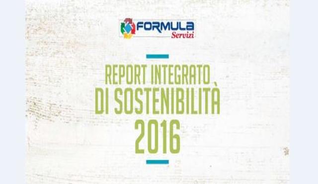 Formula Servizi, il nuovo Report integrato di sostenibilità