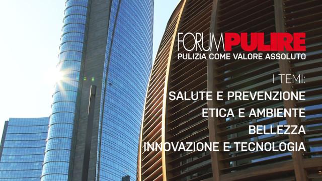 Inizia oggi Forum Pulire, il Congresso dei Servizi Integrati