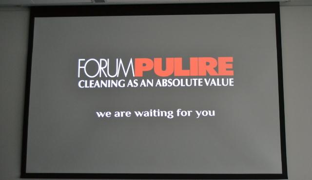Si avvicina l'appuntamento  con Forum Pulire