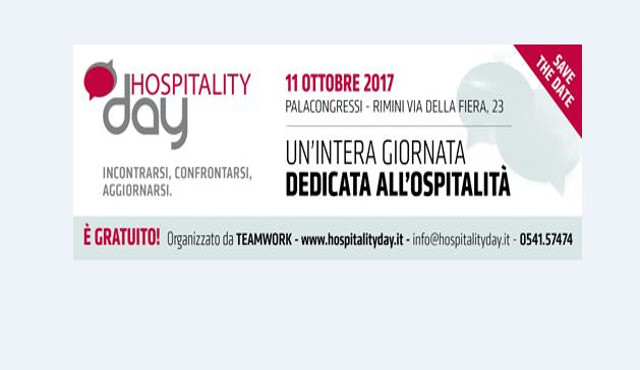 Hospitality Day 2017: un'intera giornata dedicata all'ospitalità