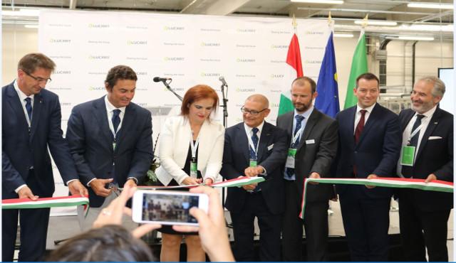 Lucart inaugura un impianto in Ungheria