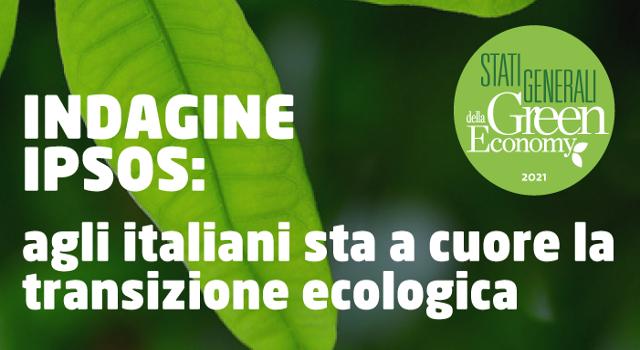 La transizione ecologica sta a cuore agli italiani