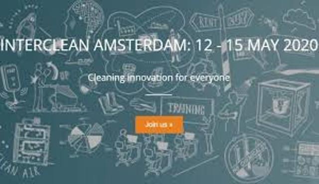 Interclean Amsterdam 2020 : robotica, dati e sostenibilità