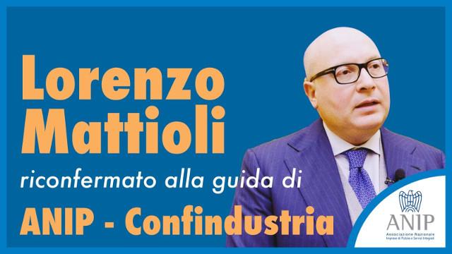 Mattioli guiderà ANIP-Confindustria sino al 2022
