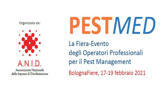 """""""PestMed"""", la fiera ANID sulla disinfestazione nel 2021 a Bologna"""