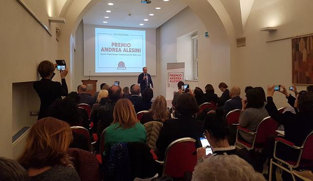 Consegnato il XIII Premio Alesini  alla sanità che funziona