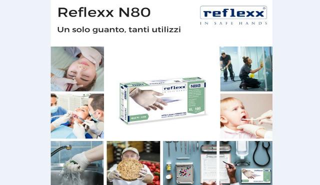 N80 Reflexx, il guanto monouso più innovativo per il trade