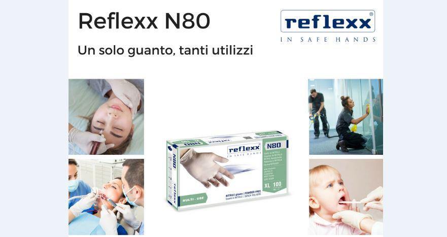 Nuovo guanto monouso N80 Reflexx, il guanto ideale per il trade