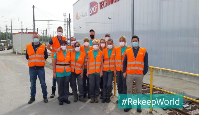 Rekeep si aggiudica la  pulizia sui treni e nelle stazioni della Normandia