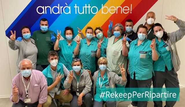 Il contributo di Rekeep al Covid Hospital di Civitanova Marche