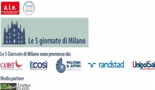 """Cinque giornate di Milano, secondo save the date sullo """"Sbloccacantieri"""""""