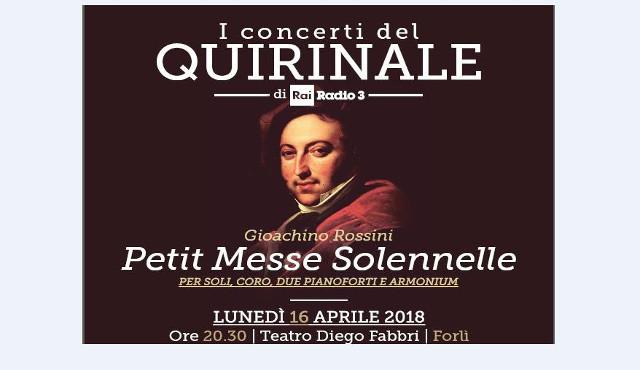 """""""Petite messe solennelle"""": Formula  Servizi presenta Rossini"""