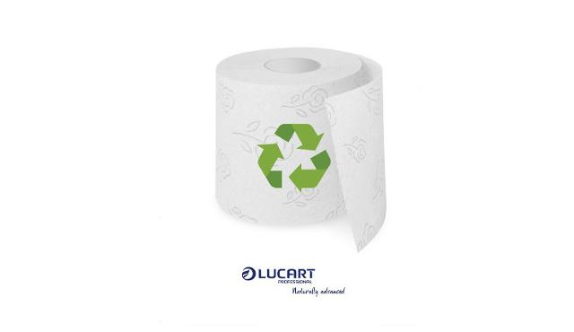 Lucart: con carta igienica riciclata si risparmiano l'80% di risorse rinnovabili e il 38% di idriche
