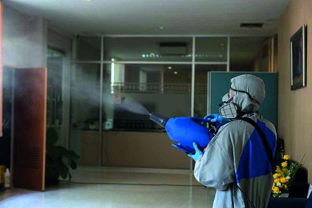 Covid-19: sanificazione ambientale e di superfici con perossido di idrogeno