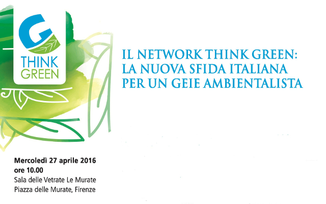 Il network Think Green: la nuova sfida italiana per un GEIE ambientalista
